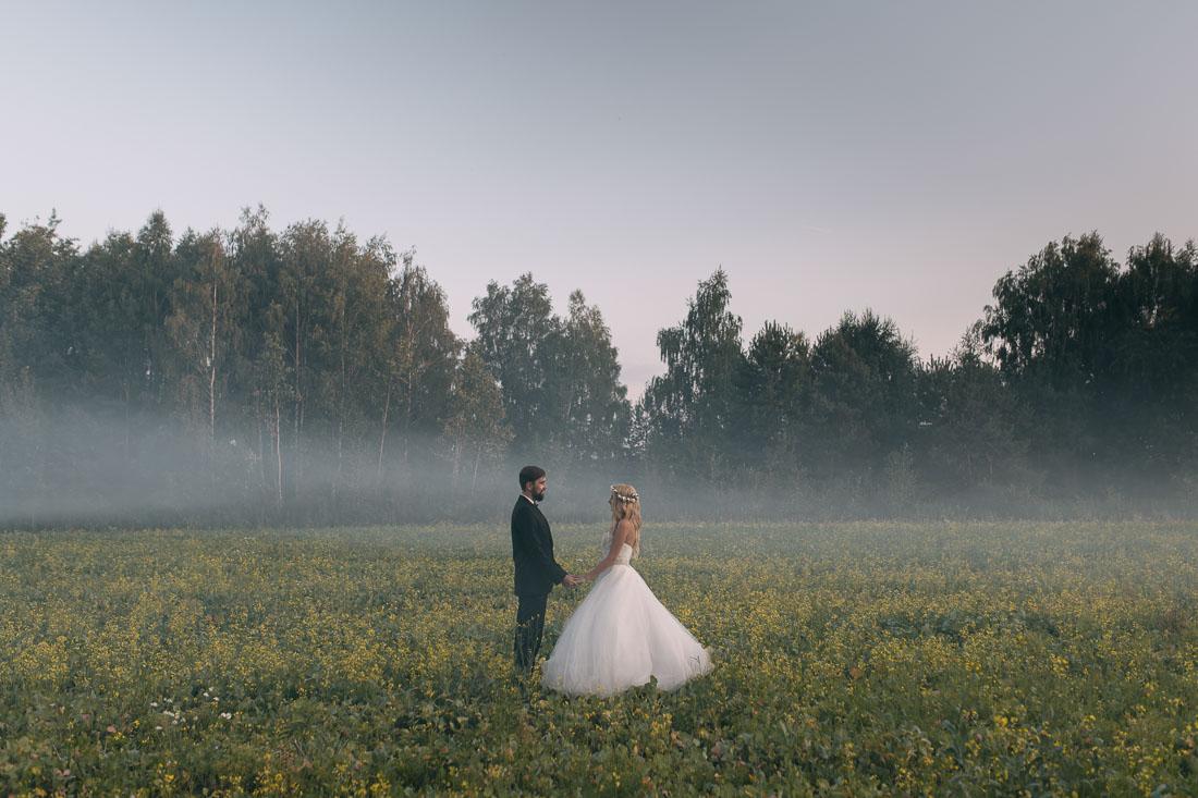 naturalna fotografia ślubna Garwolin